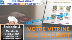 MysolutionsWEB - Découvrir, Utiliser votre vitrine Click and Collect - Episode 4/8 - VIDEO